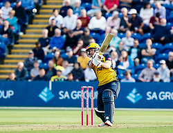 Chris Cooke of Glamorgan in action today <br /> <br /> Photographer Simon King/Replay Images<br /> <br /> Vitality Blast T20 - Round 1 - Glamorgan v Somerset - Thursday 18th July 2019 - Sophia Gardens - Cardiff<br /> <br /> World Copyright © Replay Images . All rights reserved. info@replayimages.co.uk - http://replayimages.co.uk