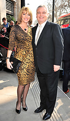 © under license to London News Pictures. 08/03/11.Ruth Langsford; Eamonn Holmes Red carpet arrivals for the 2011 TRIC (The Television & Radio Industries Club) Awards at Grosvenor House Hotel  London . Photo credit should read ALAN ROXBOROUGH/LNP