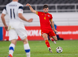 HELSINKI, FINLAND - Thursday, September 3, 2020: Wales' Ben Davies before during the UEFA Nations League Group Stage League B Group 4 match between Finland and Wales at the Helsingin Olympiastadion. (Pic by Jussi Eskola/Propaganda)