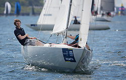 Pelle P Kip Regatta 2019 Day 1<br /> <br /> Light and bright conditions for the opening racing on the Clyde keelboat season<br /> <br /> Etchells