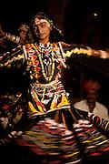 Dancer at The Gajner Palace - Rajasthan Bikaner India 2011
