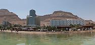En Gedi, Panoramic of The Dead Sea. En Gedi, Panoramica del mar Morto.
