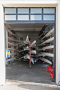 Varese. Lombardia. ITALY. General View. Varese Rowing Club. [Canottieri Varese] Boat Bay [1 of 3]<br /> <br /> Thursday  22/12/2016<br /> <br /> [Mandatory Credit; Peter Spurrier/Intersport-images]