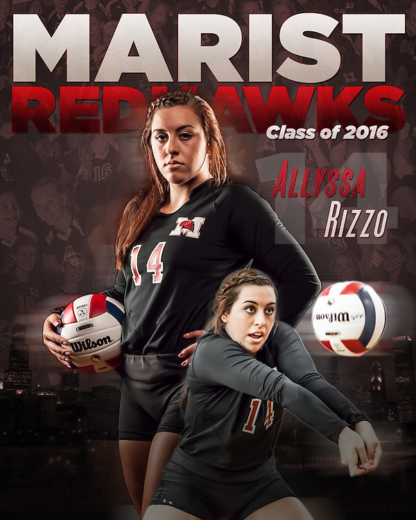 Marist High School 2015 Volleyball Sports Photography. Chicago, IL. Chris W. Pestel Chicago Sports Photographer.