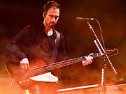 Josh Smith – bass, keyboards, piano, backing vocals for Hailstorm 2019 Fall Tour October 13th, 2019 in Ontario, California at the Toyota Arena