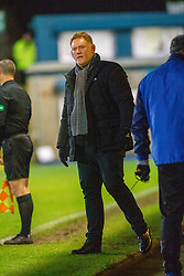 Morton's manager David Hopkin. Morton 1 v 1 Brora Rangers, 3rd Round of the Scottish Cup played 23/11/2019 at Cappielow, Greenock.