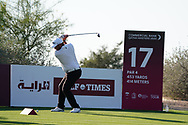 Zander Lombard (RSA) on the 17th during Round 1 of the Commercial Bank Qatar Masters 2020 at the Education City Golf Club, Doha, Qatar . 05/03/2020<br /> Picture: Golffile   Thos Caffrey<br /> <br /> <br /> All photo usage must carry mandatory copyright credit (© Golffile   Thos Caffrey)