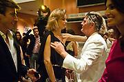 EVA HERZIGOVA; CHRISTIANNE, Mario Testino exhibition.  Hosted by Vanity Fair Spain and Lancome. Thyssen-Bornemisza Museum (Paseo del Prado 8, Madrid.20 September 2010.  -DO NOT ARCHIVE-© Copyright Photograph by Dafydd Jones. 248 Clapham Rd. London SW9 0PZ. Tel 0207 820 0771. www.dafjones.com.