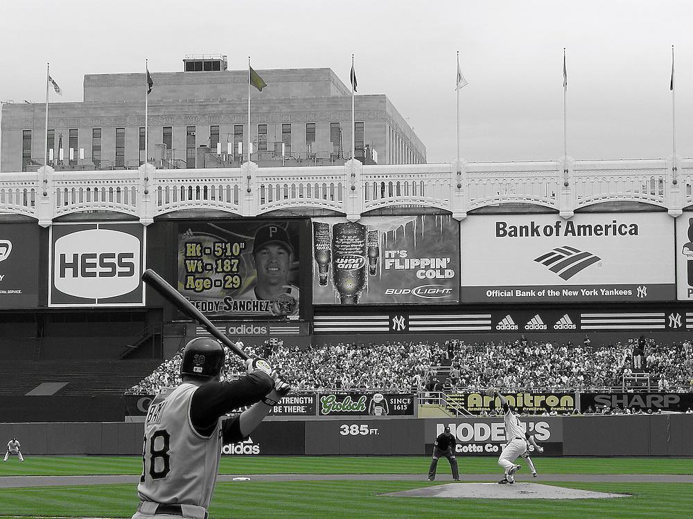 game at the old Yankee stadium