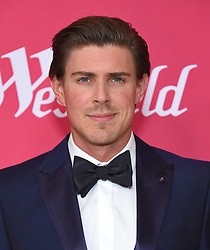 February 19, 2019 - Beverly Hills, California, U.S. - Chris Lowell arrives for the 21st CDGA (Costume Designers Guild Awards) at the Beverly Hilton Hotel. (Credit Image: © Lisa O'Connor/ZUMA Wire)