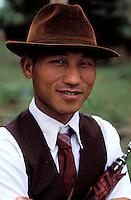 Laos - Muang Sing - Homme Hmong