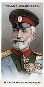 Grand Duke Nicholas of Russia (1856-1929). Commander-in-chief Russian army against Austria and Germany and in Caucasus 1915-1917.