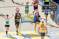 Boston Marathon start Boston Strong finish