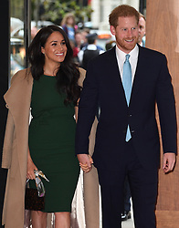 Prince Harry, Duke of Sussex, and Meghan Markle, Duchess of Sussex, attend the WellChild Awards Ceremony at the Royal Lancaster Hotel, London, UK, on the 15th October 2019. 15 Oct 2019 Pictured: Meghan Markle, Duchess of Sussex, Prince Harry, Duke of Sussex. Photo credit: James Whatling / MEGA TheMegaAgency.com +1 888 505 6342