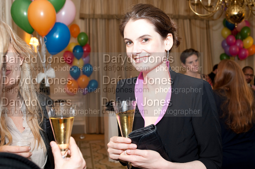 VIOLET FRASER, Kate Reardon and Michael Roberts host a party to celebrate the launch of Vanity Fair on Couture. The Ballroom, Moet Hennessy, 13 Grosvenor Crescent. London. 27 October 2010. -DO NOT ARCHIVE-© Copyright Photograph by Dafydd Jones. 248 Clapham Rd. London SW9 0PZ. Tel 0207 820 0771. www.dafjones.com.