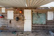 Front door of a house in the Makushi indigenous community of Aranaputa (North Rupununi, Guyana).