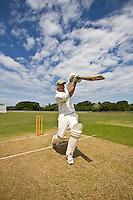Village cricket on the Isle of Wight.