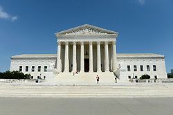 June 10, 2017 - Washington, DC, USA - 20170610: The United States Supreme Court building in Washington. (Credit Image: © Chuck Myers via ZUMA Wire)