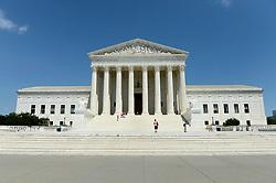 June 10, 2017 - Washington, DC, USA - 20170610: The United States Supreme Court building in Washington. (Credit Image: © Chuck Myers via ZUMA Wire)