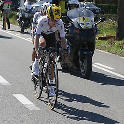 03-04-2016: Wielrennen: Ronde van Vlaanderen vrouwen: Oudenaarde  <br />OUDENAARDE (BEL) cycling  <br />The sixth race in the UCI Womensworldtour is the ronde van Vlaanderen. A race over the famous Flemish climbs. Emma Johansson and worldchampion Lizzy Armitstead started the attack between de Kwaremont and the PAterberg