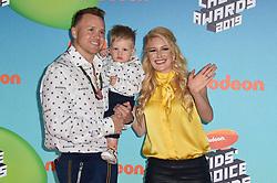 Spencer Pratt, Heidi Pratt attend Nickelodeon's 2019 Kids' Choice Awards at Galen Center on March 23, 2019 in Los Angeles, CA, USA. Photo by Lionel Hahn/ABACAPRESS.COM