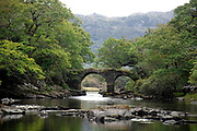 Then Old Weir Bridge at the Meeting of the Waters in Killarney National Park.<br /> Picture by Don MacMonagle