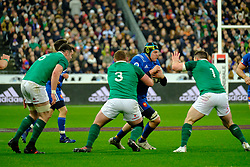 February 3, 2018 - Saint Denis, Seine Saint Denis, France - The Lock of French Team ARTHUR ITURRIA in action during the NatWest Six Nations Rugby tournament between France and Ireland at the Stade de France - St Denis - France..Ireland Won 15-13 (Credit Image: © Pierre Stevenin via ZUMA Wire)