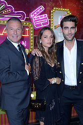 Jean-Christophe Babin, Alicia Vikander and Jon Kortajarena attending a ribbon cutting ceremony of a Bulgari pop-up store at the Galleries Lafayette department store as part of 2017/18 Fall Winter Haute Couture Fashionweek in Paris, France on July 04, 2017. Photo by Aurore Marechal/ABACAPRESS.COM