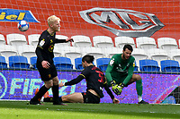 Football - 2020 / 2021 Sky Bet Championship - Cardiff City v Watford- Cardiff City Stadium<br /> <br /> <br /> Francisco Sierralta Watford concedes an own goal<br /> <br /> COLORSPORT/WINSTON BYNORTH