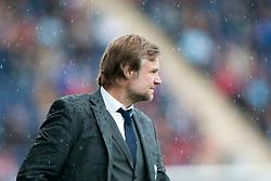Steven Pressley, Falkirk manager..Falkirk 3 v 0 Stirling Albion, Ramsdens Cup..© Michael Schofield.