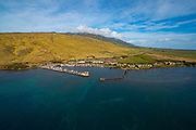 Aerial, Maalaea, Harbor, Maui, Hawaii