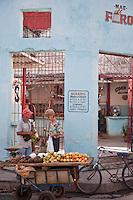 Local market in Santa Clara, Cuba.