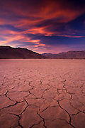 A dry lake bed in Anza-Borrego Desert State Park, California.