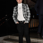 John Galea attend TMA Talent Management Group host launch party for their new dating app, The List at 100 Wardour Street  on 3rd April 2019, London, UK.