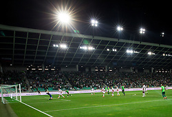 Third goal of NK Olimpija when Blessing Eleke of NK Olimpija scored during 1st Leg football match between NK Olimpija Ljubljana (SLO) and FK AS Trenčin (SVK) in Second Qualifying Round of UEFA Champions League 2016/17, on July 13, 2016 in SRC Stozice, Ljubljana, Slovenia. Photo by Vid Ponikvar / Sportida