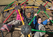 Students at recess at Walnut Bend Elementary school, February 6, 2013.