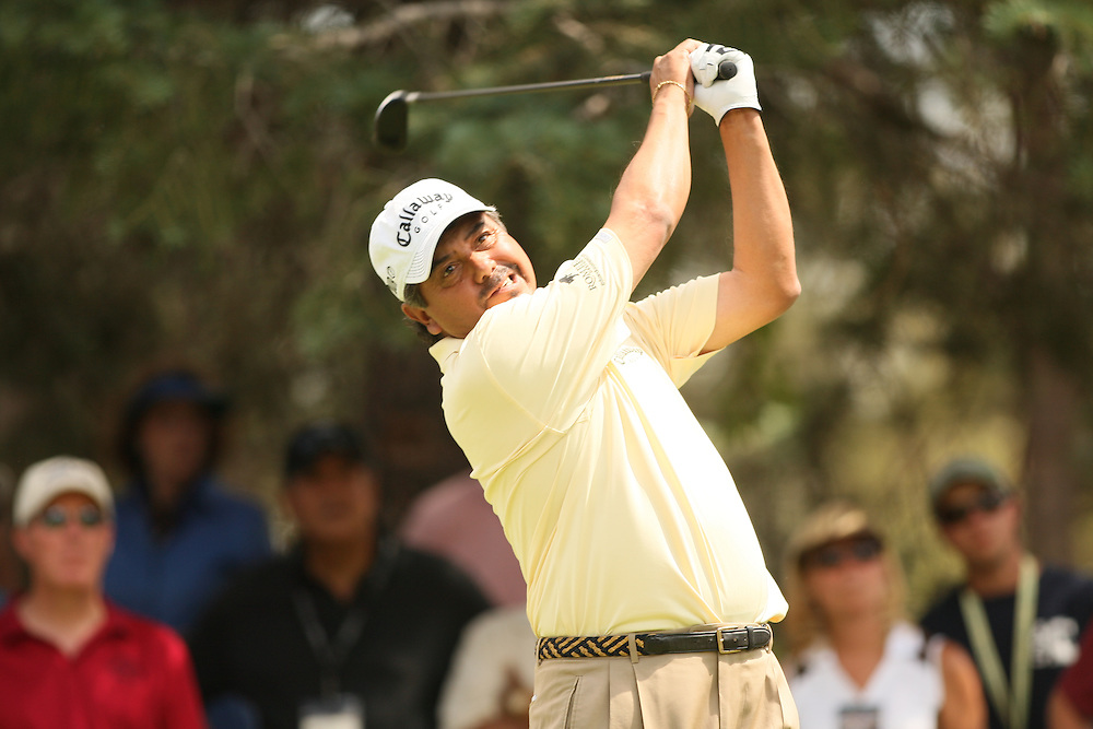 Eduardo Romero during the third round of the 2008 United States Senior Open Championship at Broadmoor Golf Club in Colorado Springs, CO on Saturday, August 2 2008. .