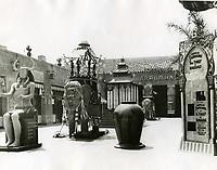 1924 Forecourt of Egyptian Theater