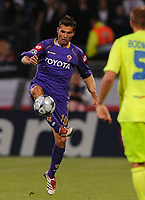 Fotball<br /> Foto: DPPI/Digitalsport<br /> NORWAY ONLY<br /> <br /> FOOTBALL - CHAMPIONS LEAGUE 2008/2009 - GROUP STAGE - GROUP F - 080917 - OLYMPIQUE LYONNAIS v ACF FIORENTINA - ADRIAN MUTU (FIO) <br /> <br /> Lyon