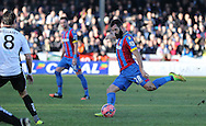 Crystal Palace Joe Ledley during the The FA Cup Third Round match between Dover Athletic and Crystal Palace at Crabble Athletic Ground, Dover, United Kingdom on 4 January 2015. Photo by Phil Duncan.