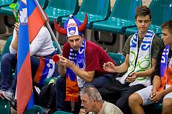 22-08-2017 NED: World Qualifications Slovenia - Bulgaria, Rotterdam<br /> Bulgaria win 3-1 against Slovenia / support Slovenia<br /> Photo by Ronald Hoogendoorn / Sportida