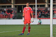 Shareef Keouf of Israel (1) during the UEFA European Under 17 Championship 2018 match between Israel and Italy at St George's Park National Football Centre, Burton-Upon-Trent, United Kingdom on 10 May 2018. Picture by Mick Haynes.