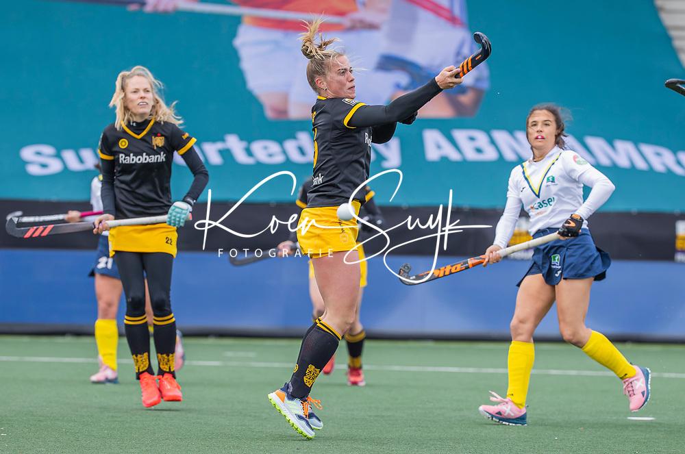 AMSTELVEEN - Joosje Burg (DenBosch)  tijdens  de Euro Hockey League finale dames, HC Den Bosch-Club Campo de Madrid (5-0).  COPYRIGHT KOEN SUYK