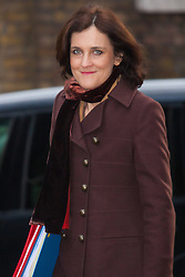 Downing Street, London, January 27th 2015. Ministers attend the weekly cabinet meeting at Downing Street. PICTURED: Secretary of State for Northern Ireland Theresa Villiers.