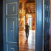 NLD/Den Haag/20190703 - Bezichtiging kamers paleis Huis ten Bosch, De Oranje Zaal