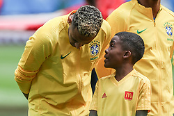 June 22, 2018 - Sao Petesburgo, Vazio, Russia - Neymar da Silva Santos Jr. of  Brasil during the match between Brazil and Costa Rica for the second round of group E of the 2018 World Cup, held at Saint Petersburg Stadium, St. Petersburg, Russia. Game ended scoreless. (Credit Image: © Thiago Bernardes/Pacific Press via ZUMA Wire)