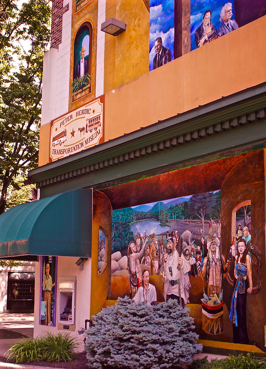 Northcentral Pennsylvania, mural paintings, Williamsport, PA