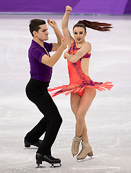 February 11, 2018 - Gangneung, South Korea - MARIE-JADE LAURIAULT and ROMAIN LE GAL of France compete during the Figure Skating Team Event Ice Dance Short Dance at the PyeongChang 2018 Winter Olympic Games at Gangneung Ice Arena. (Credit Image: © Paul Kitagaki Jr. via ZUMA Wire)