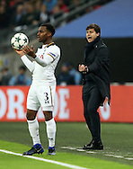 Tottenham's Mauricio Pochettino in action during the Champions League group match at Wembley Stadium, London. Picture date December 7th, 2016 Pic David Klein/Sportimage
