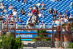 Kraut Laura, USA, Zeremonie<br /> World Equestrian Games - Tryon 2018<br /> © Hippo Foto - Dirk Caremans<br /> 21/09/2018
